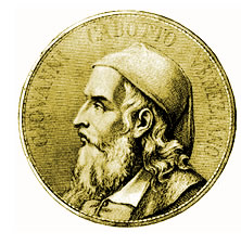 A 15th- or 16th-century representation of John Cabot, or Giovanni Caboto. Source: http://commons.wikimedia.org/