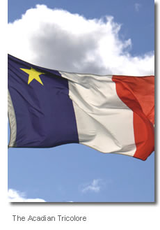The Acadian Tricolore